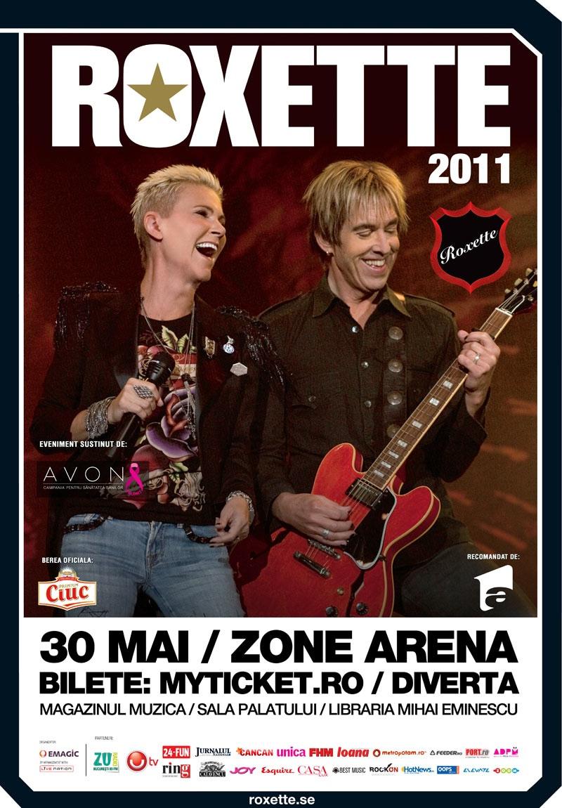 Roxette la primul concert în România