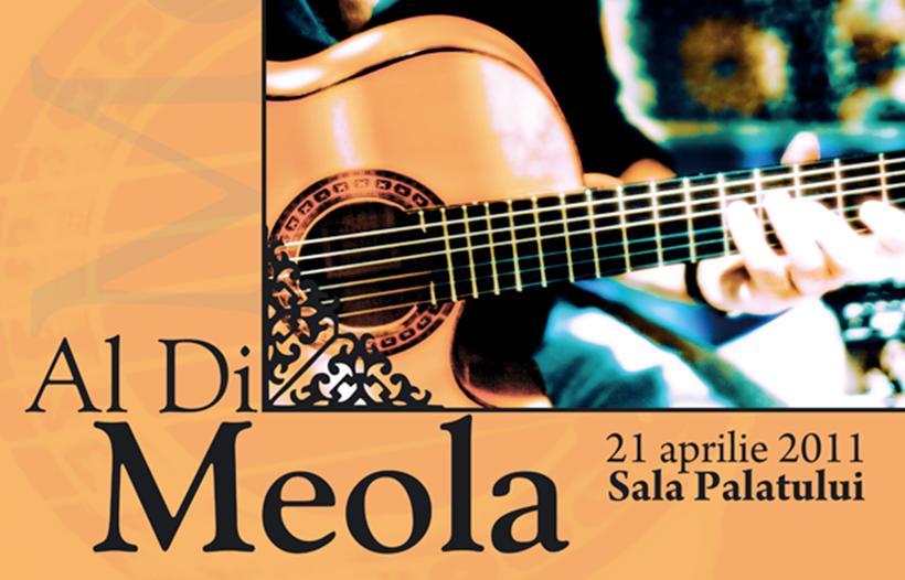 Al Di Meola în concert la Bucureşti şi Timişoara