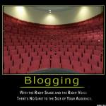 (Nu) sunt un blogger!?