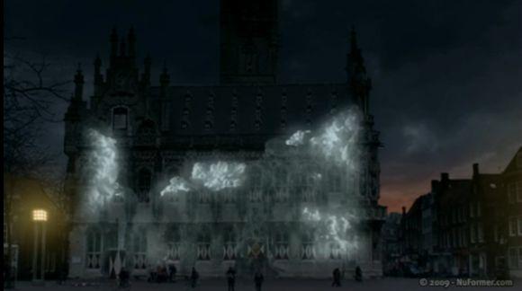 Proiectii 3D la Muzeul de Arta, de Ziua Timisoarei