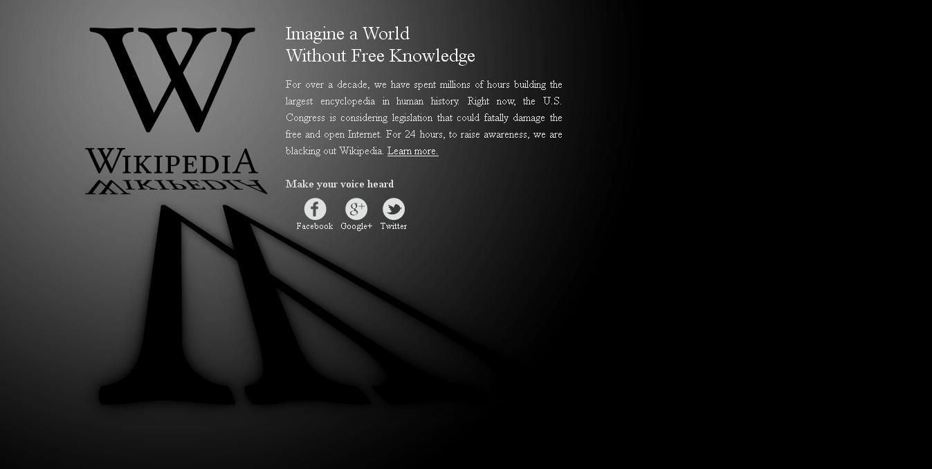 Wikipedia offline, cenzura online si viitorul informatiei libere