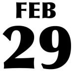 An bisect. 29 februarie. Cateva detalii.