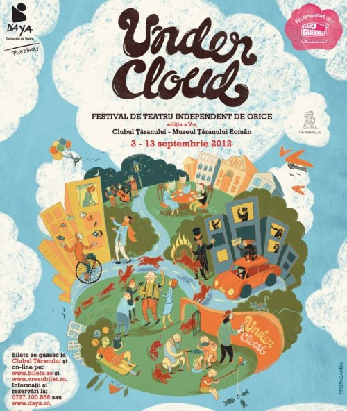 undercloud, festival, teatru independent, afis