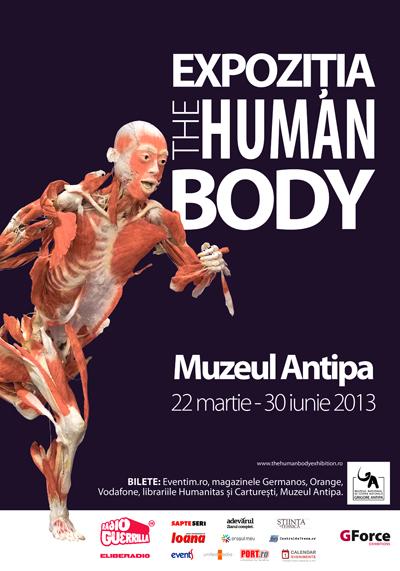 The Human Body la Antipa o expoziție controversată