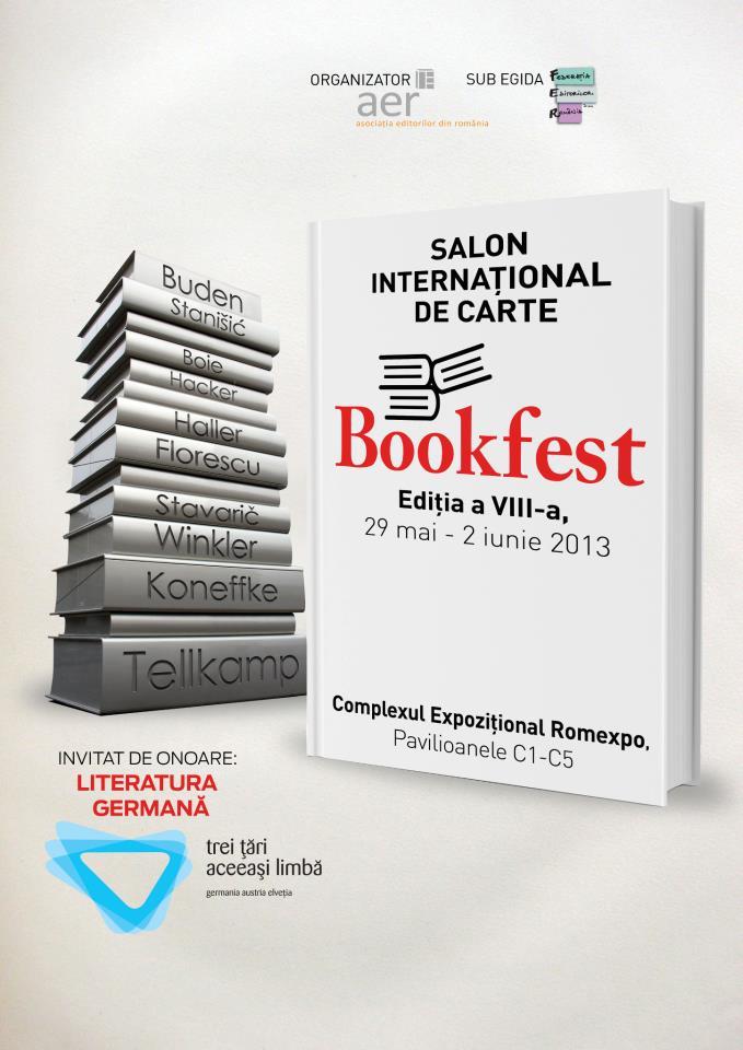Bookfest 2013 – 1 milion de titluri la ROMEXPO