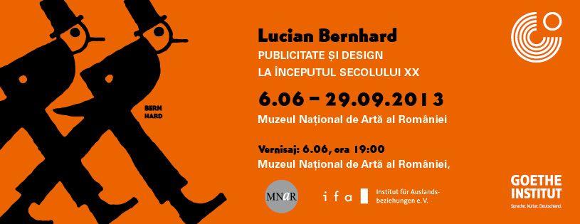 Lucian Bernhard – Publicitate şi design. Expoziție la Muzeul Național de Artă