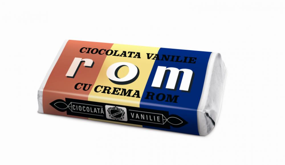 6 reclame la ciocolata ROM Tricolor (comentate)