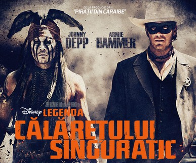 Călărețul Singuratic 2013 vs Johnny Depp