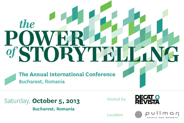 Arta de a spune povesti – Conferința The Power of Storytelling