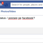 Cum poți să editezi un status pe facebook?