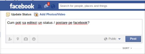 editare postari facebook