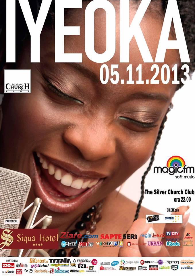 Iyeoka o surpriză cu jazz-fusion, blues, soul și poezie