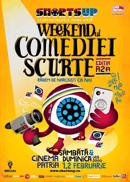 Afis-Weekendul-Comediei-Scurte-ShortsUP_online