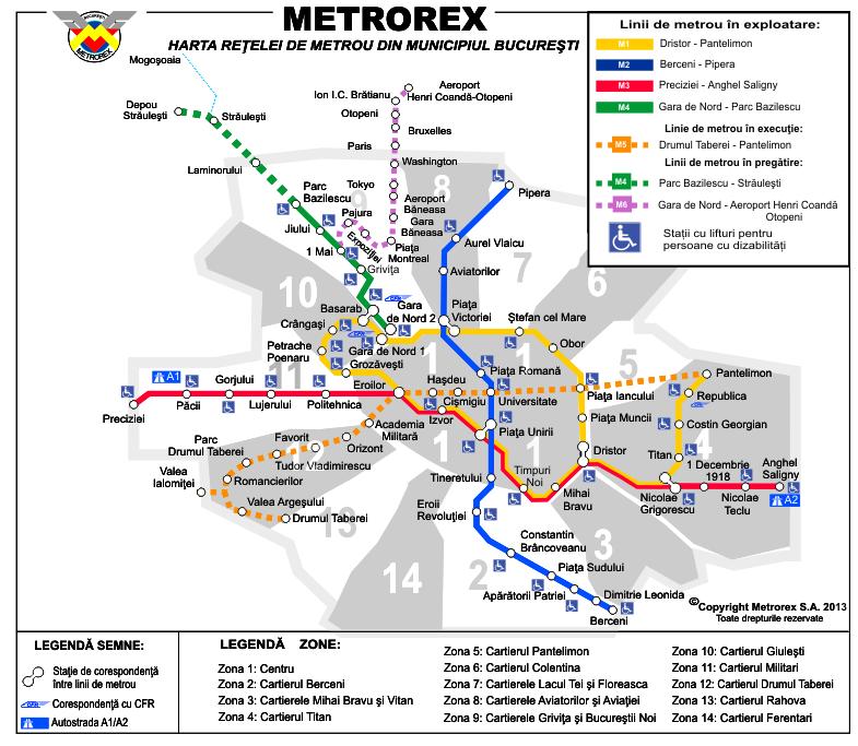 Noile staţii de metrou: Tokyo, Paris, Washington…