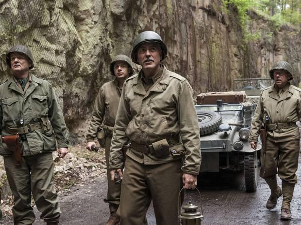 George Clooney regizorul şi The Monuments Men