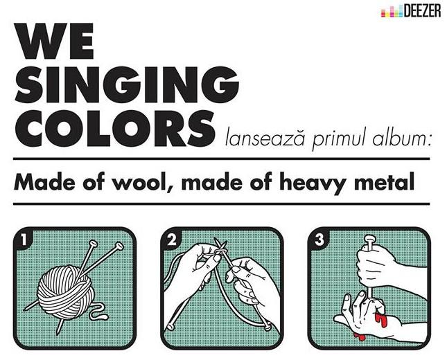 We Singing Colors lansează albumul de debut în Energiea