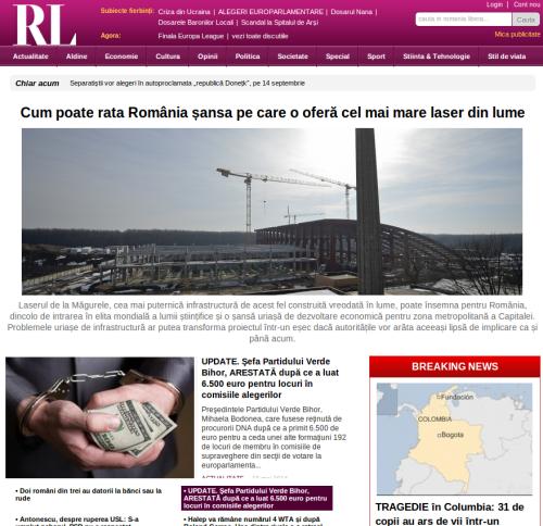noul site romania libera