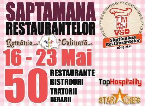 Săptămâna Restaurantelor în Bucureşti