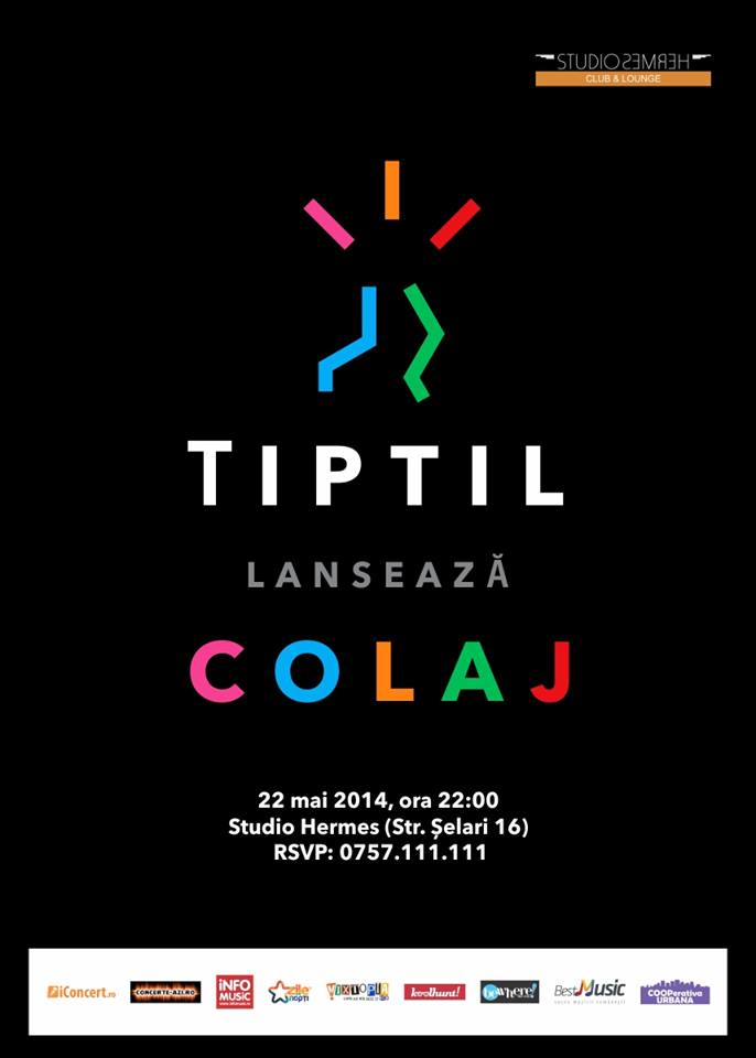 TiPtiL lansează COLAJ – albumul de debut!