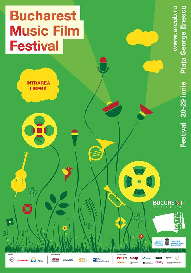 Programul Bucharest Music Film Festival 2014