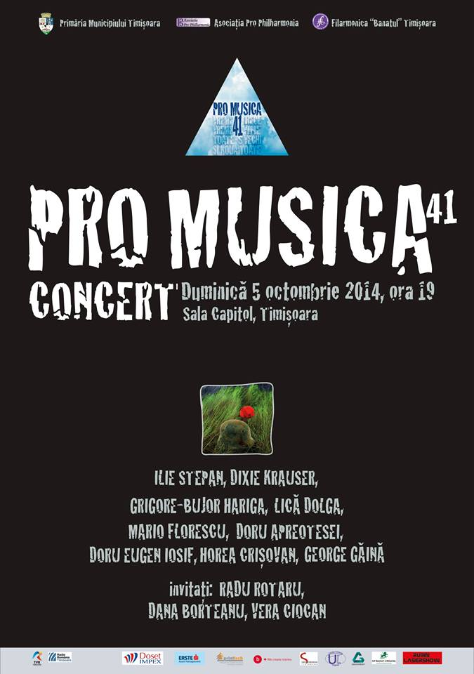 Concert Pro Musica la 41 de ani – transmis live online