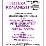 Aniversare: 30 de ani de concerte la Peştera Româneşti