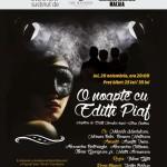 O NOAPTE CU EDITH PIAF la Teatrul Elisasbeta