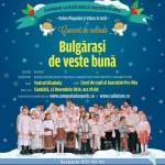 Concert caritabil de Craciun Bulgarasi de veste buna cu Dan Puric