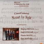 Mozart by Night – ClassiCameral la Teatrul Elisabeta