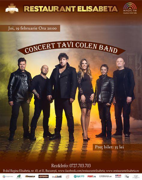 Concert Tavi Colen Band