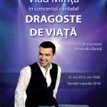 """""""Dragoste de viata"""" concert caritabil cu Vlad Mirita"""