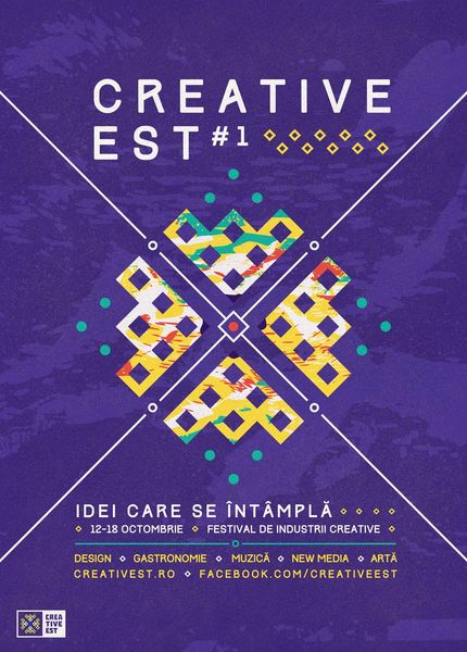 Creative Est – primul festival al industriilor creative româneşti