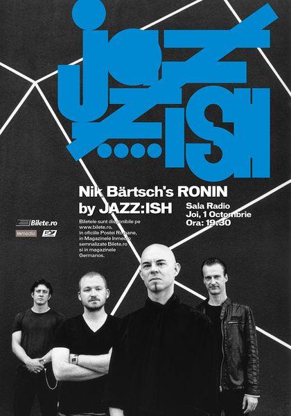 Nik Bärtsch's Ronin la Sala Radio primul concert JAZZ:ISH