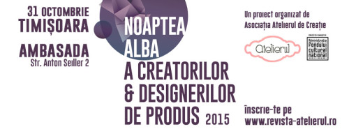 cover picture Noaptea alba a creatorilor si designerilor de produs