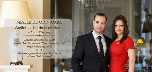 Mesele de odinioară – istorii culinare româneşti cu Ana și Filip Iorga