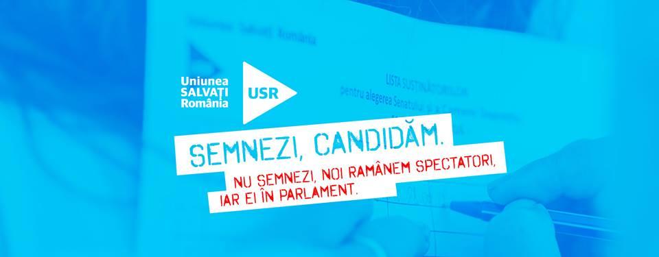 Soluţia USR la alegerile din 11 decembrie 2016