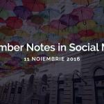 Ce motiv am mai găsit ca să revin în Timişoara: November Notes in Social Media