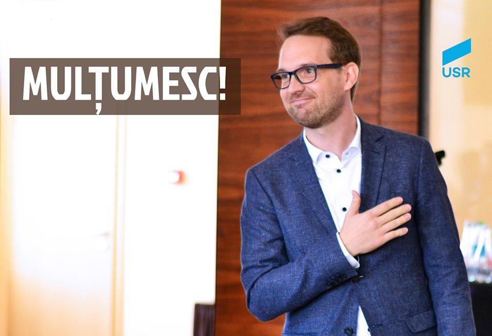 Dominic Fritz alegerea USR pentru Timișoara 2020