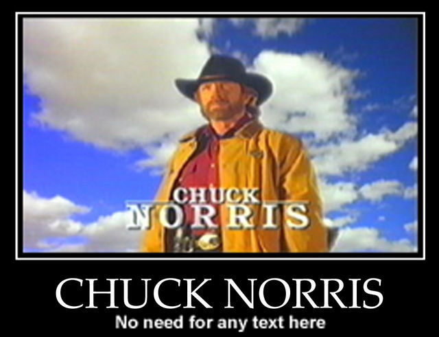 Chuck Norris a spus: Vreau să văd lumea!