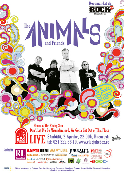 """The Animals  – """"House of The Rising Sun"""""""