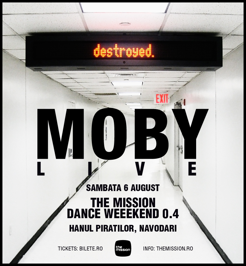 Moby la The Mission Dance Weekend 2011