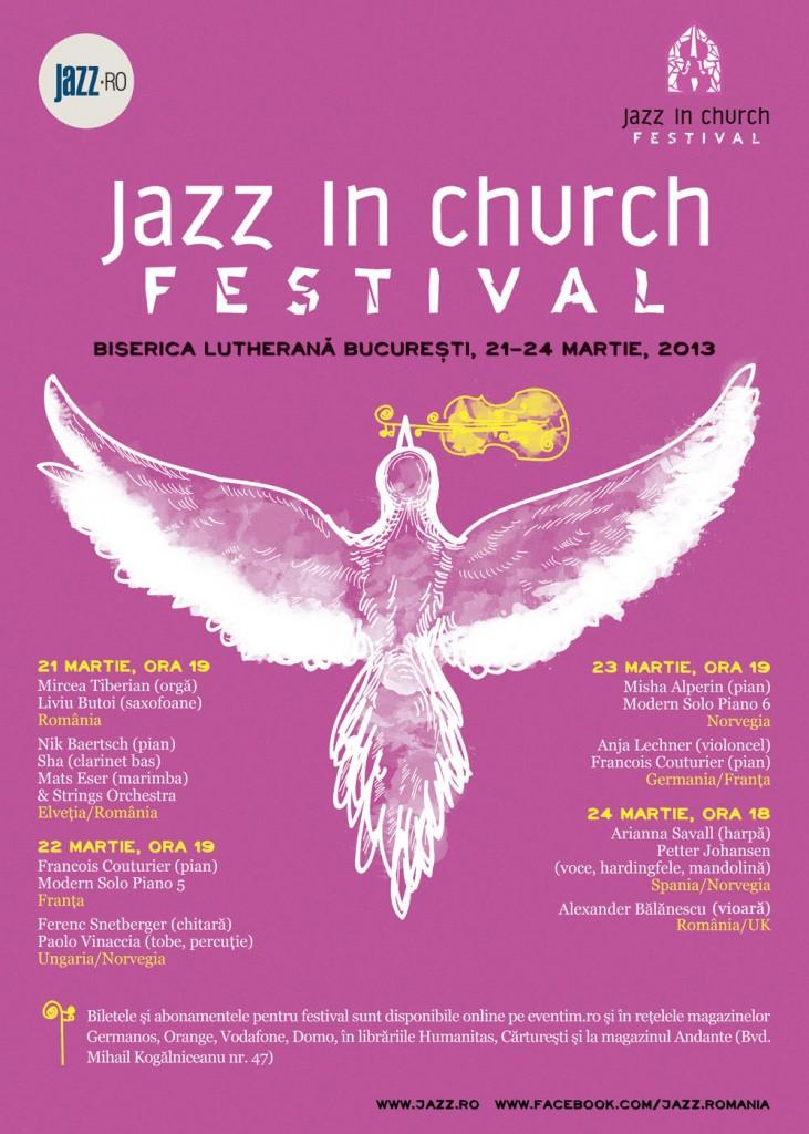 Jazz in Church Festival la Biserica Luterana din Bucuresti