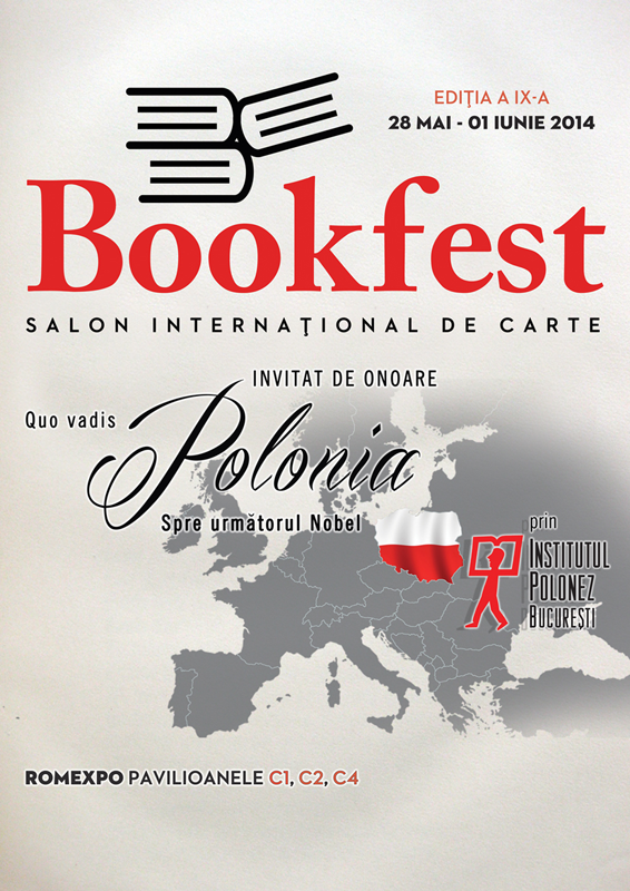 Bookfest 2014 – Polonia invitat de onoare